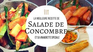 la meilleure cuisine la meilleure salade de concombre the best cucumber salad astuce