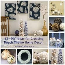 Ocean Themed Home Decor 19 Best Beach Home Decor Images On Pinterest Seashell Crafts