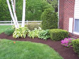 Ideas For Landscaping by Learn The Good Ideas To Apply Best Mulch For Landscaping Homesfeed
