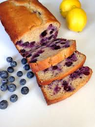 blueberry lemon yogurt loaf chez cateylou