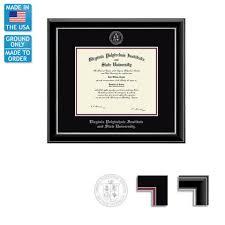 virginia tech diploma frame virginia tech onyx diploma frame free ground shipping cus
