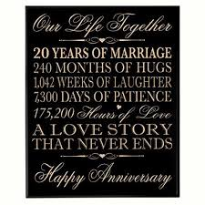 20th wedding anniversary gifts the 25 best 20th anniversary gifts ideas on 20th
