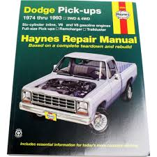 haynes repair manual new ram truck dodge d150 ramcharger w250 d250