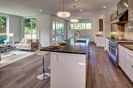 Crackle Kitchen Cabinets Modern Kitchen With Pendant Light By Dk Wozniak Design Build Llc