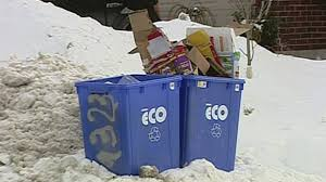 garbage collection kitchener waste collection delays to continue into weekend ctv kitchener news