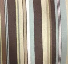 home decorating fabric this fabric has brown spa blue off white and green colors