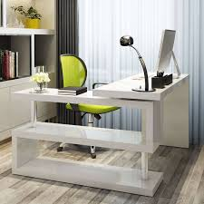 Gloss White Living Room Furniture Office Desk White Office Desk White Computer Desk Office Desk