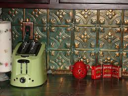tin backsplash ideas kitchen rustic with design traditional gas