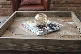 shabby chic diy pallet wood tray