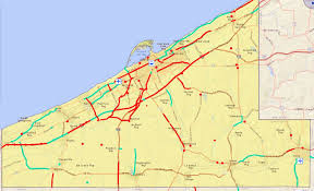 Erie County Map Map Of Does Erie County Have Plans To Fix The Roads And Bridges Where You