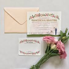 Wedding Invitation Cards Singapore Custom Stationery The Paper Bunny