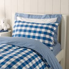 Gingham Duvet Covers Gingham Bed Linen Collection Children U0027s Bed Linen The White