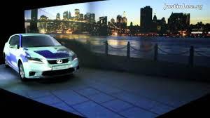 lexus ct200h vs audi a1 lexus ct200h 3d car projection show youtube