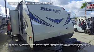 bullet rv floor plans keystone bullet ultra lite west 220rbiwe youtube