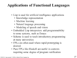 functional programming languages chapter ppt download