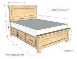 image of chunky wooden bed frames california king bed frame ideas