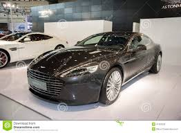 aston martin rapide will only black aston martin rapide s car editorial stock photo image