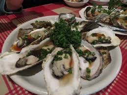entree en cuisine free images restaurant dish meal food oyster plate seafood