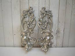Silver Wall Sconce Candle Holder Cool Silver Wall Sconce Candle Holder Candle Holders Design Wall