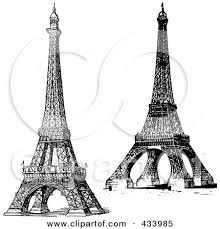 iduu963pav eiffel tower sketch