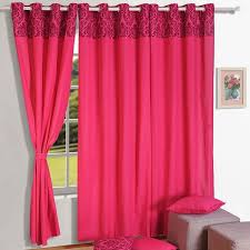 Swayam White N Pink Floral 9 Best Solid Curtains At Swayam India Images On Pinterest Door