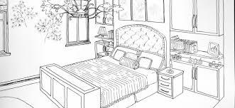 dessin chambre chambre 28 bâtiments et architecture coloriages à imprimer