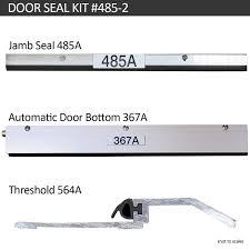 Exterior Door Seals Thresholds by Acoustic Door Seal Kit Acoustical Solutions