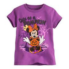 disney store minnie mouse halloween cute shirt tee size 2 3 4 5