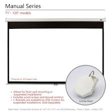amazon com elite screens manual 120 inch 16 9 pull down