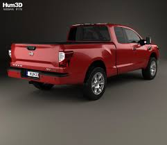 nissan navara titan 2017 nissan titan king cab sv 2017 3d model hum3d