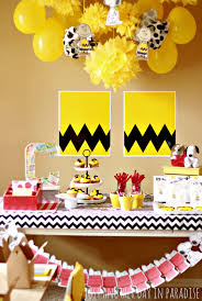 just another day in paradise a charlie brown birthday party
