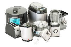 cuisine appareil ensemble d appareils ménagers de cuisine grille bouilloire