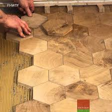 fitting hexagon wood tiles floors traditional wood flooring is