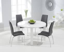 dining room tables atlanta atlanta 120cm round white high gloss dining table with cavello