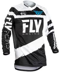 fly motocross jersey f 16 black white jersey fly racing motocross mtb bmx