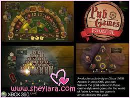 fable 2 pub games ggf 13 sheylara endorses xbox 360 sheylara