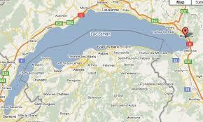 map of montreux montreux map