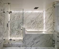 townhouse new york city bathroom contemporary with black and white