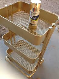 Ikea Raskog Rolling Cart Youtube Pinkstrawberryz For More Tutorials Https Www Etsy Com