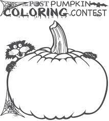 the post pumpkin coloring contest 2014 cedar springs post newspaper