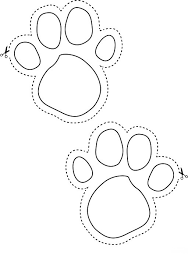 bunny footprints to help the little ones find their easter basket