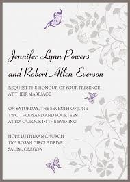 butterfly invitations exquisite purple butterfly ribbon lace pocket wedding invitations