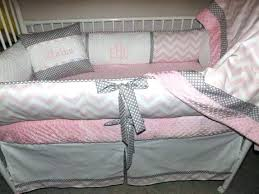 Pink And Grey Crib Bedding Sets Pink And Grey Nursery Bedding Icedteafairy Club