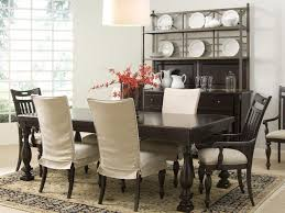 dining room chair slipcovers at classic minimalist with black