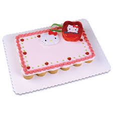 hello kitty compact 24 cupcake servings pull a part via publix