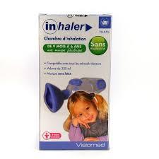chambre d inhalation chambre d inhalation de 9 mois a 6 ans visiomed inhaler