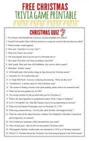 Christmas Games For Party Ideas - 7 free printable holiday games christmas trivia games trivia
