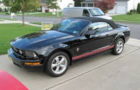 Black Mustang Convertible 2008 Warriors In Pink Mustang Convertible 3k Miles In Black