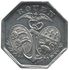 chambre du commerce rouen 10 centimes rouen notgeld numista