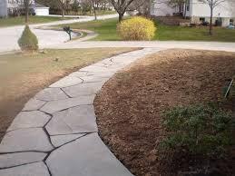 Dry Laid Flagstone Patio Download Flag Stone Walkway Garden Design
